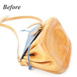 画像 イルビゾンテのヌメ革バッグにできたシミを消す方法。 の記事より 5つ目
