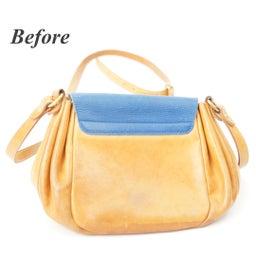 画像 イルビゾンテのヌメ革バッグにできたシミを消す方法。 の記事より 3つ目
