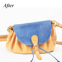 画像 イルビゾンテのヌメ革バッグにできたシミを消す方法。 の記事より 2つ目
