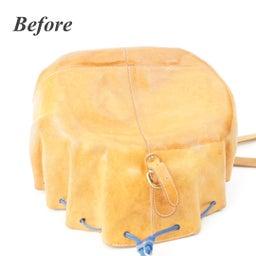 画像 イルビゾンテのヌメ革バッグにできたシミを消す方法。 の記事より 7つ目