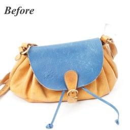 画像 イルビゾンテのヌメ革バッグにできたシミを消す方法。 の記事より 1つ目