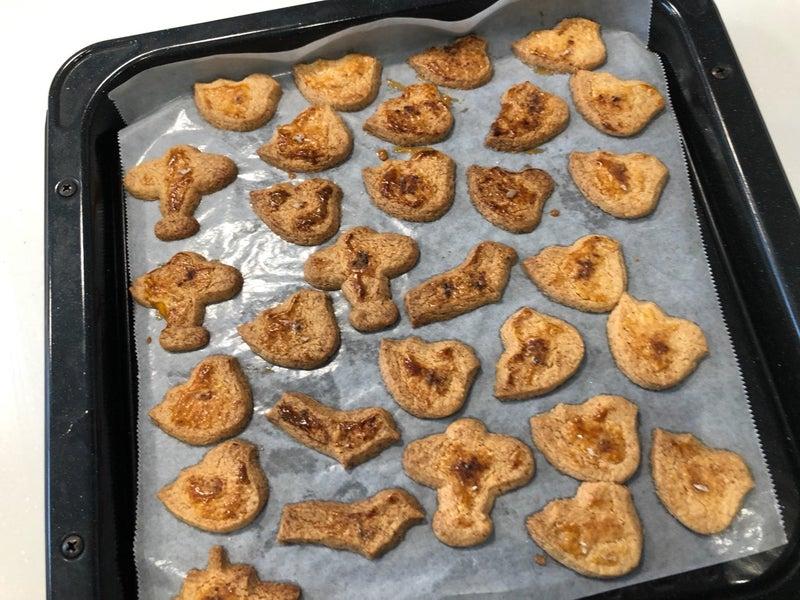 メープルシロップ クッキー 栗原はるみ