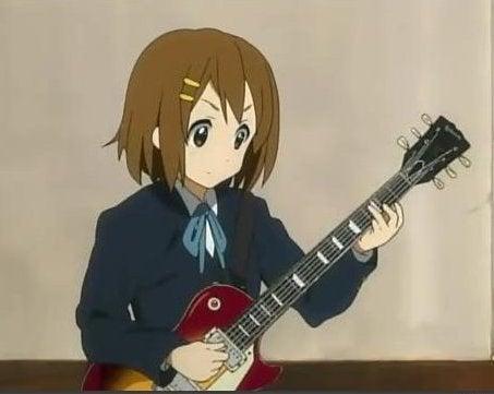 ギター けい おん ゆい