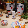 """【自由が丘】シチリア島生まれの奇跡の陶芸家アントニオ・フォーリンの陶器が愉しめ""""アルテカイ""""へ♪の画像"""