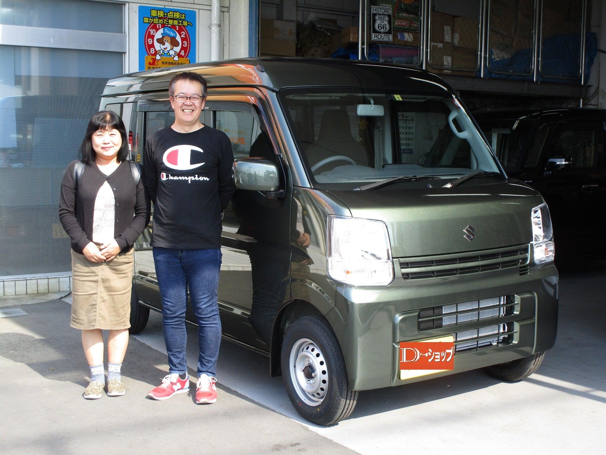 茨城県S様 キャンピングカー生活のスタートにエブリィは渋色チョイスです!