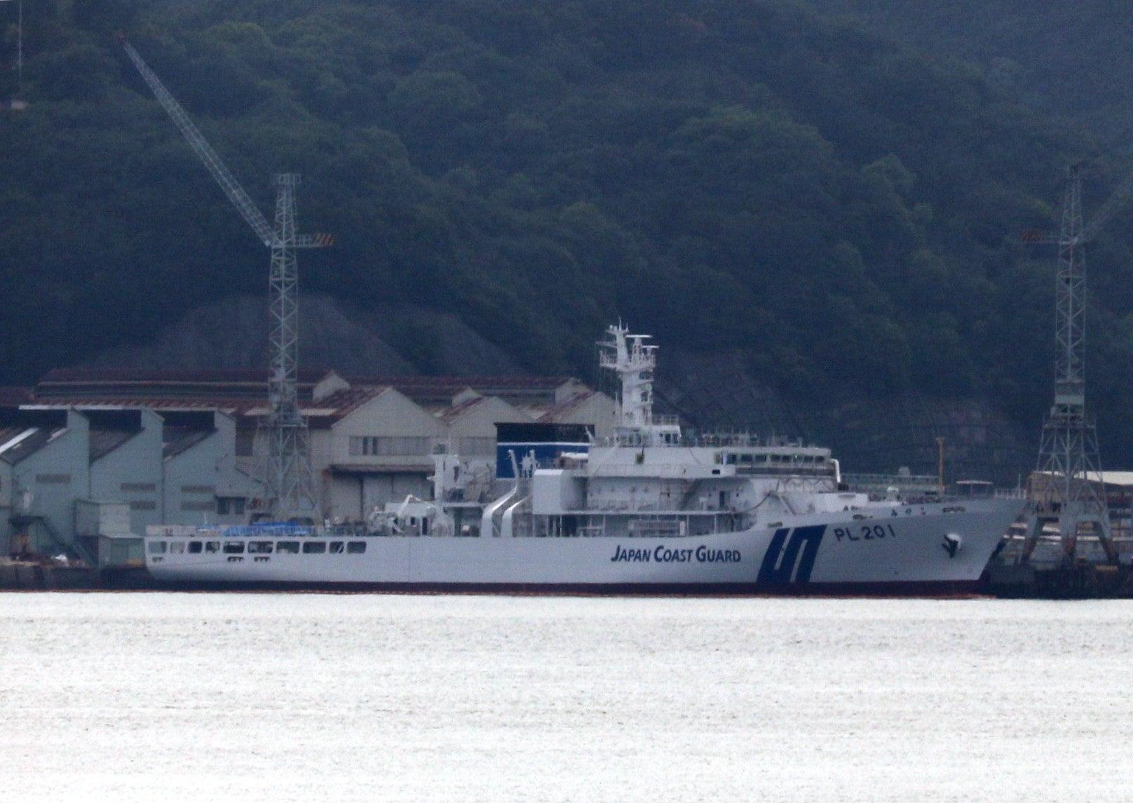 歴史と巡視船艇ときどき空2019-020  大きなPL巡視船