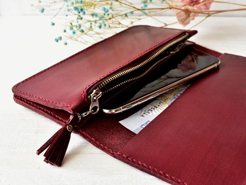スマホも入る財布