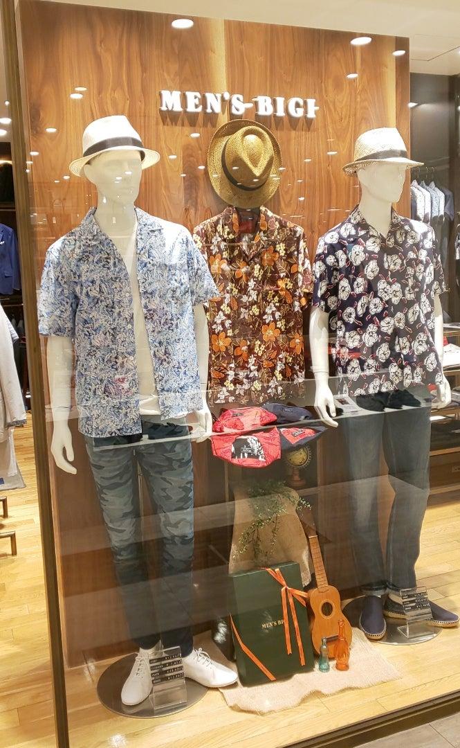 やっぱり開襟シャツが好き❗️ | メンズビギ マルイシティ横浜店 GM ...