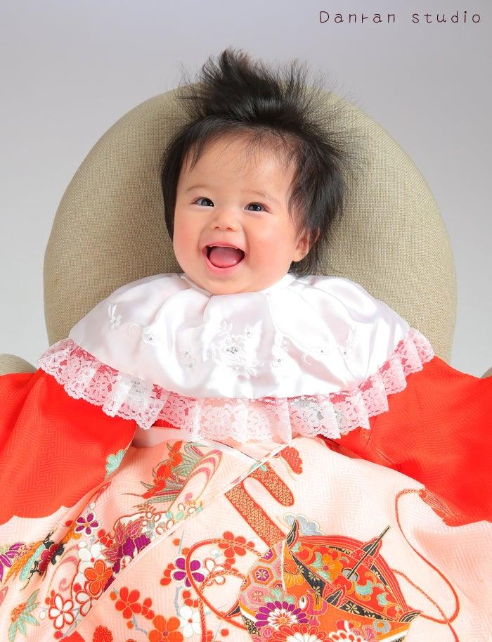 山口県下関市でお宮参りや百日祝い・ニューボーン・ハーフバースデーの記念写真は人気の写真館だんらんスタジオ