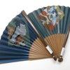 扇子2019・2種|紳士用手描き絹張扇子|浮世絵・写楽|歌舞伎・暫く。の画像