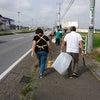 地域のゴミ拾いの画像