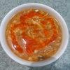 絶大なる人気の酸辣湯スープ!の画像
