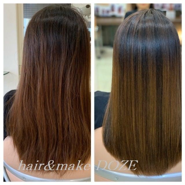 髪の内側も外側もケアすることでサラサラツヤツヤな美髪へ!