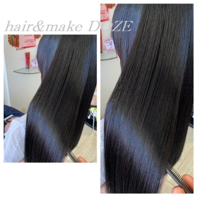 ダメージレスで本来のクセ毛もキレイにするにはスペシャルな髪質改善コースがおススメです!