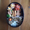 たこ昆布で好きな物盛り沢山な女の子弁当(♡˙︶˙♡)