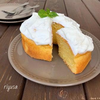 【混ぜて焼くだけ】ヨーグルトの大雑把ケーキ