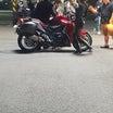バイク店ブログにユノMV撮影現場写真