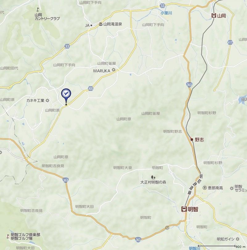 ◇ 恵那市 原不動の滝・山岡滝 | えだ2の♪滝に逢いに行く♪