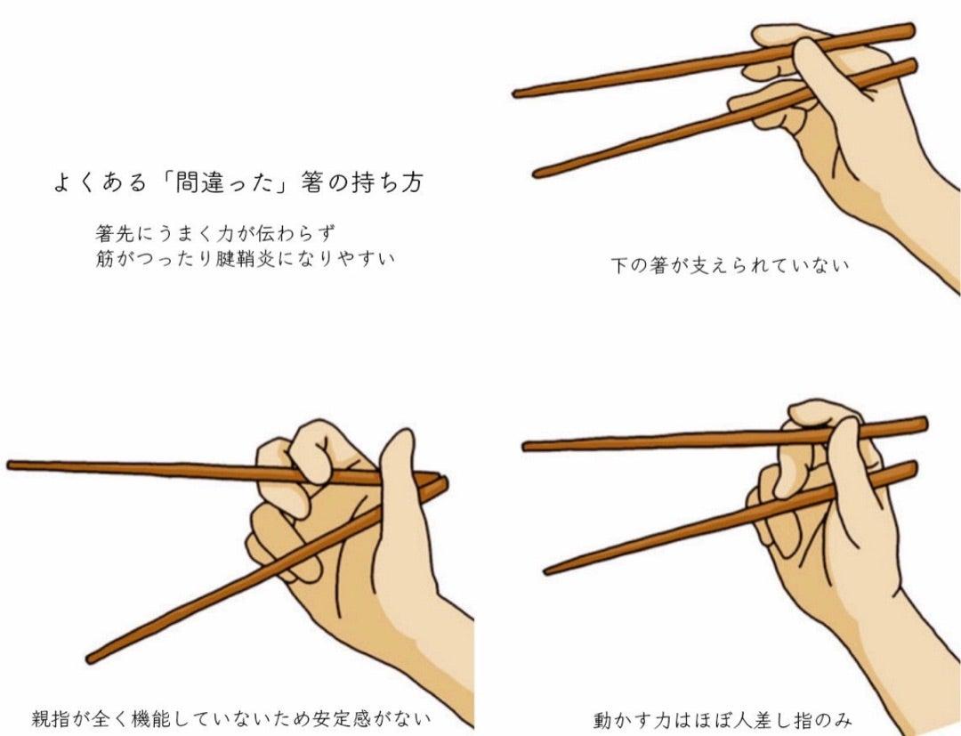 お 箸 の 持ち 方 手先を鍛えて知育につなげよう!お箸の持ち方の練習。