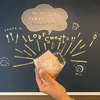 【店舗ペイントレポ】シュークリームカフェ『OAHU』さんでウォールペイントしてきましたの画像