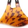 変わり市松模様の贅沢なべっ甲かんざし 東京オリンピック2020のモチーフ、市松模様の簪。の画像