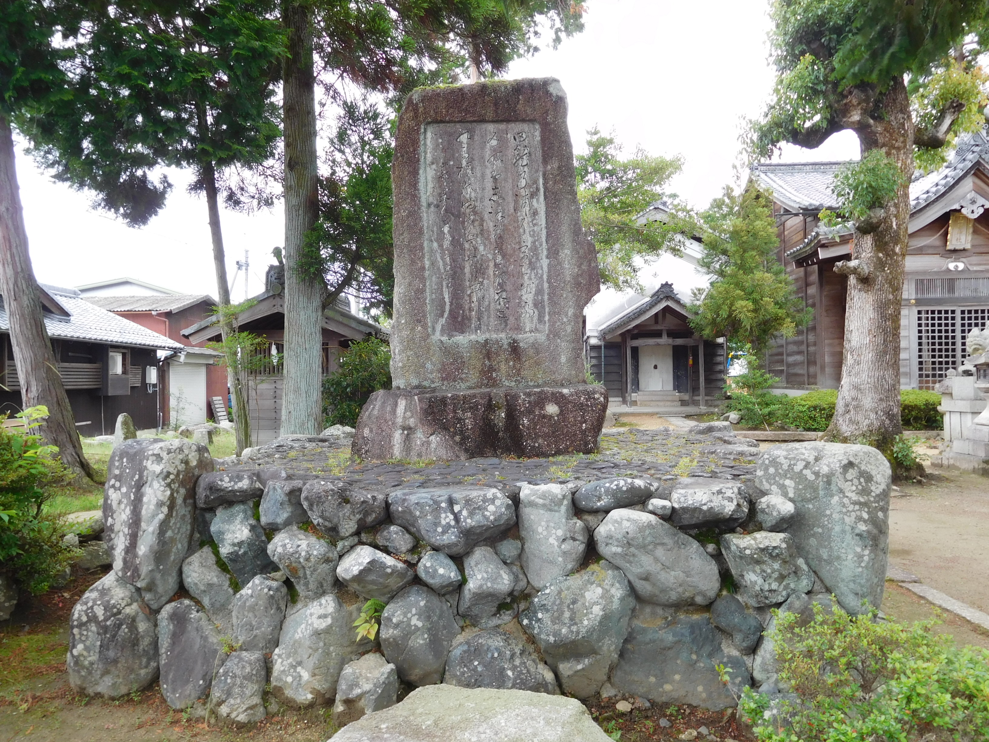 安 明高(大先達)のお遍路便り万葉歌人「山部赤人」ゆかりの山部神社