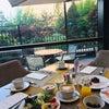 緑豊かな景色と共にクオリティ高いホテルモーニング☆ミレニアムソウルヒルトンの画像