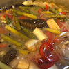簡単、早い、旨い、野菜と厚揚げの焼き浸しの画像