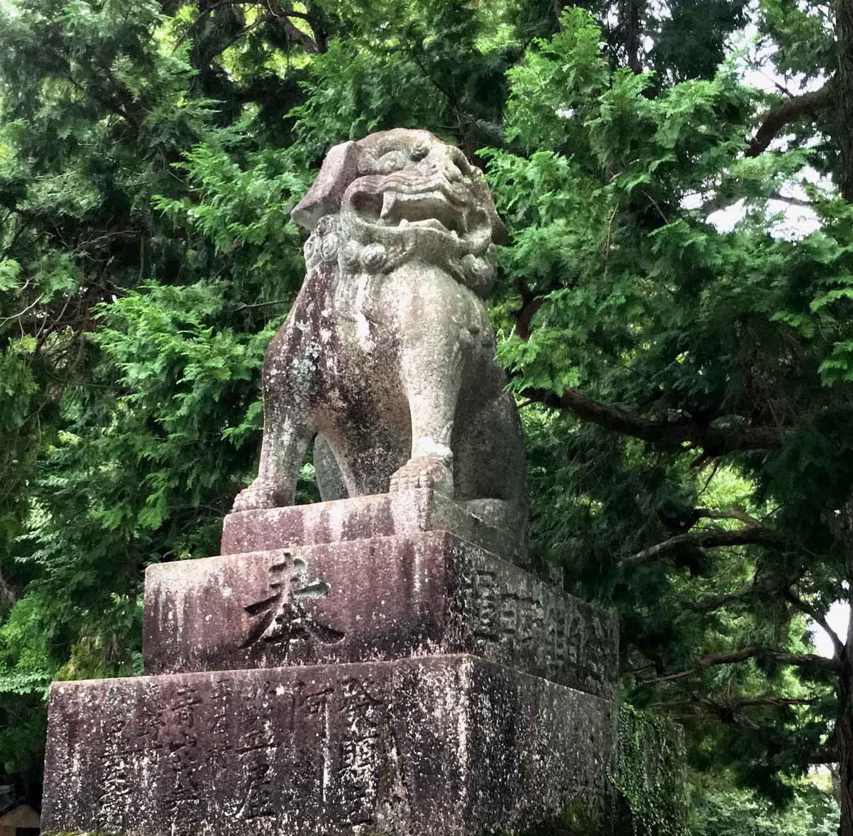 熊野速玉大社の狛犬