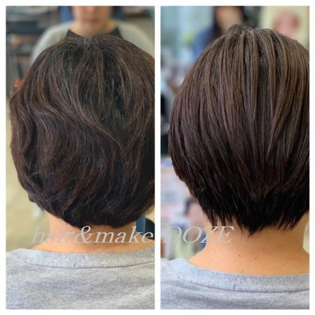 髪質改善プレミアムトリートメントはロングだけではありません!!!