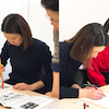 入会を希望される方の書道無料体験★上野校2020年4月スケジュールの画像