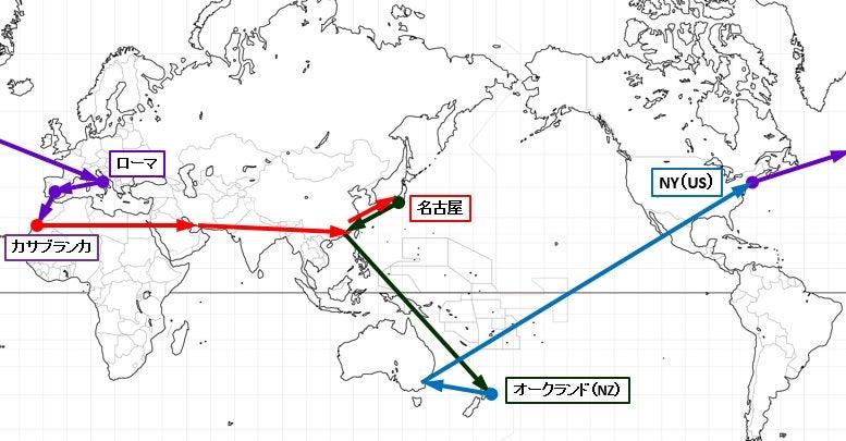 世界 一周 航空 券 ワン ワールド