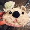 手編みのコテガマの画像