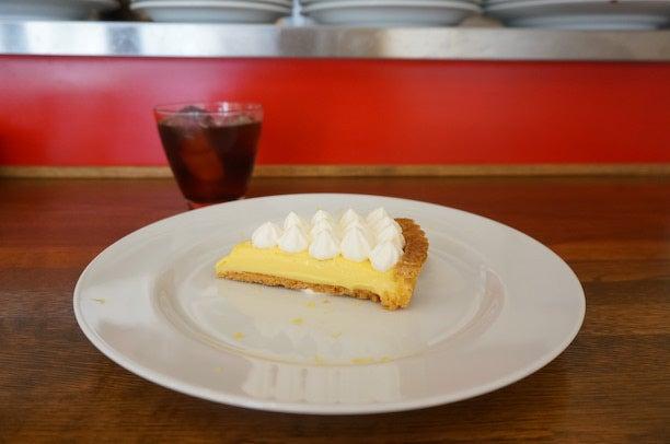 用賀カフェ komorebi レモンのタルト