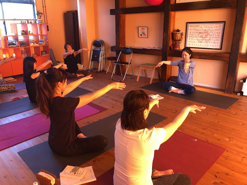 yoga marga 岩盤ヨガクラスの画像