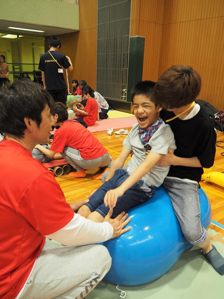 6月のはなまるキッズ(HGB重度・重複障害児スポ・レク活動教室 ...