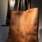 KUDU革からバッグが生まれてくる過程の記事より