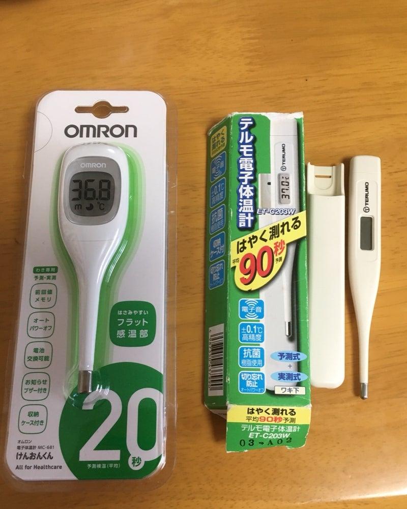 体温計 c232 テルモ