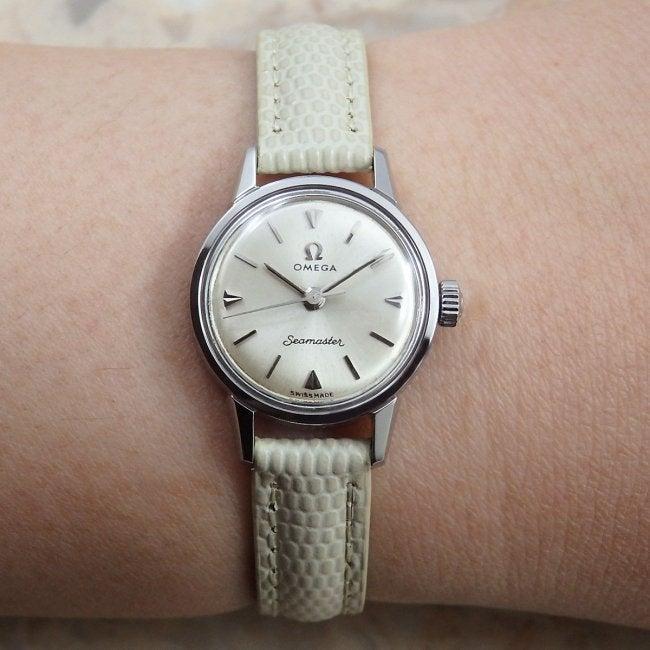 buy popular 5c703 873e0 オメガ 60's シーマスター 1961年レディース アンティーク時計 ...