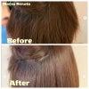 中まで輝く! きらきらショートストレート♪|マレーアレナータ縮毛矯正とカラーの画像