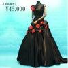 真っ赤なお花が印象的♡ゴシックファッション好きにオススメしたいドレスの画像