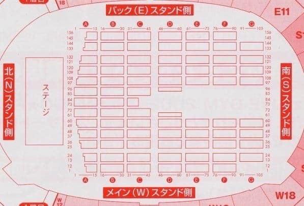 静岡 エコパ スタジアム 座席
