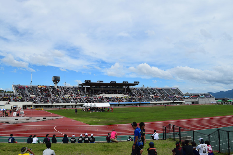 第43回全日本中学校陸上競技選手権大会 | mattunpapaのブログ