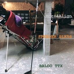 画像 フジクラシャフト SPEEDER SLK5S × BALDO TTX の記事より 5つ目