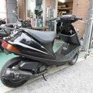 武蔵村山中古バイク販売・買取・修理のmashaに希少のアドレスV100展示中です♪の記事より