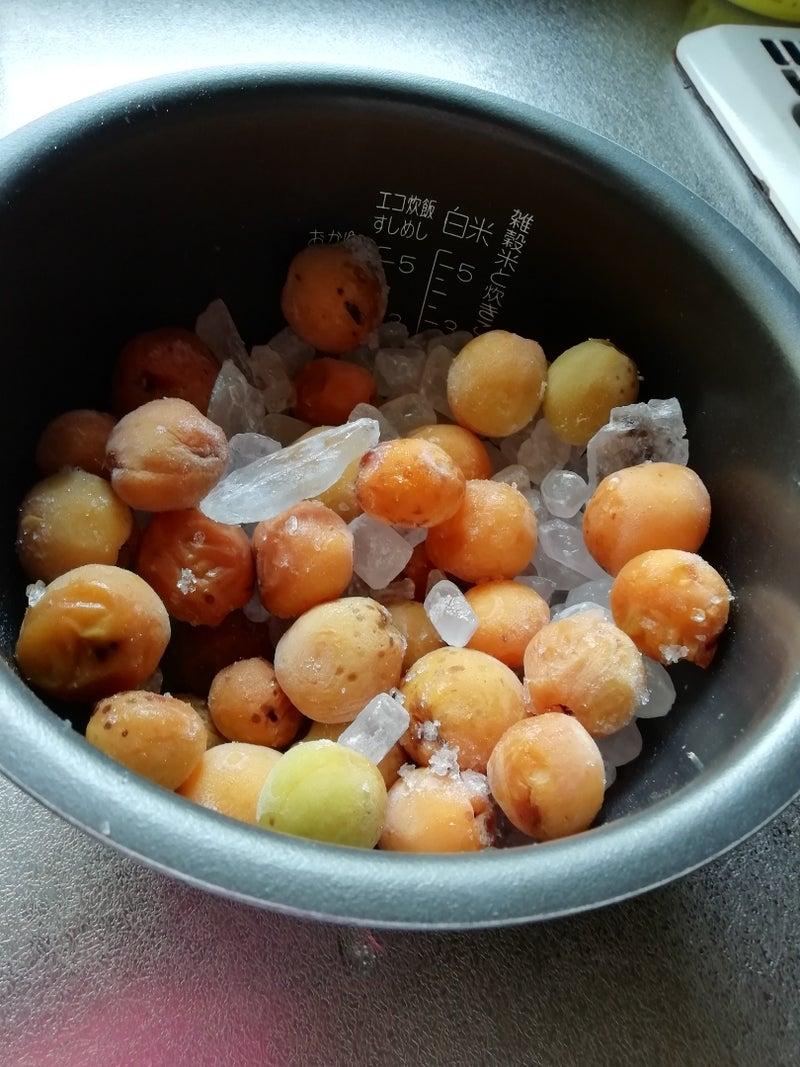 梅 ジュース 炊飯 器