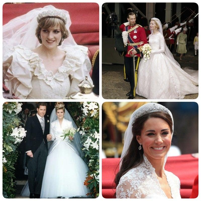 イギリス王室 歴代ロイヤルウェディング | aaa-ribbon 世界のロイヤル ...