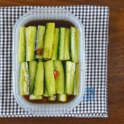 画像 あっという間に作れる 茄子ときゅうりベーコンの胡麻醤油和え の記事より 18つ目