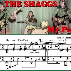 ①マイパルフットフット - 50年前の天然ポリリズムバンド「シャッグス」を譜面にの画像