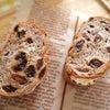 成城石井のパンでサンドイッチの画像